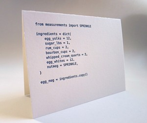 code cards holiday greeting cards by matt raw 4