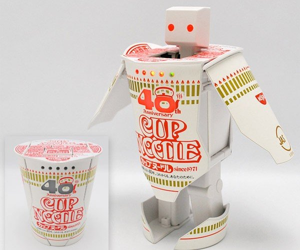 Cup Noodle Robotimer is the Most Awesome Thing to Come out of Japan in Years