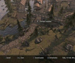 Elder Scrolls V Map Hack: Skyrim Street View