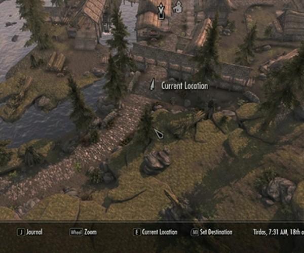 Elder Scrolls V Map Hack: Skyrim Street View