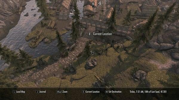Elder Scrolls V Map Hack Skyrim Street View Technabob