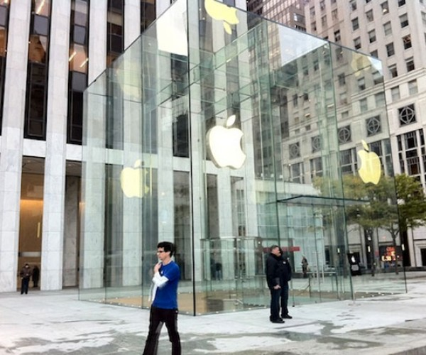 Apple Store Fifth Avenue Glass Cube Gets an Upgrade