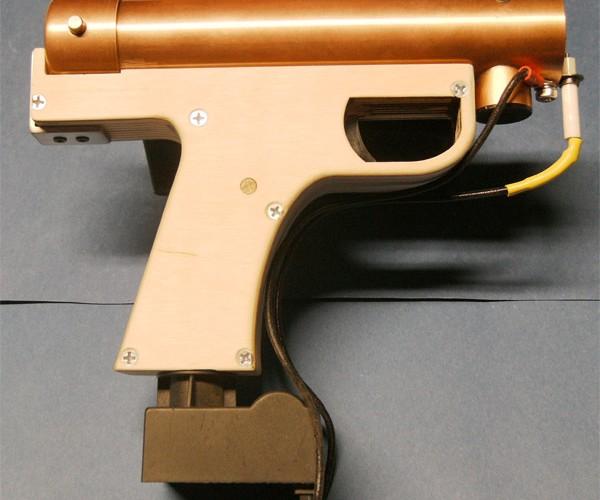 Flamethrower Pistol Shoots Flames, Not Bullets