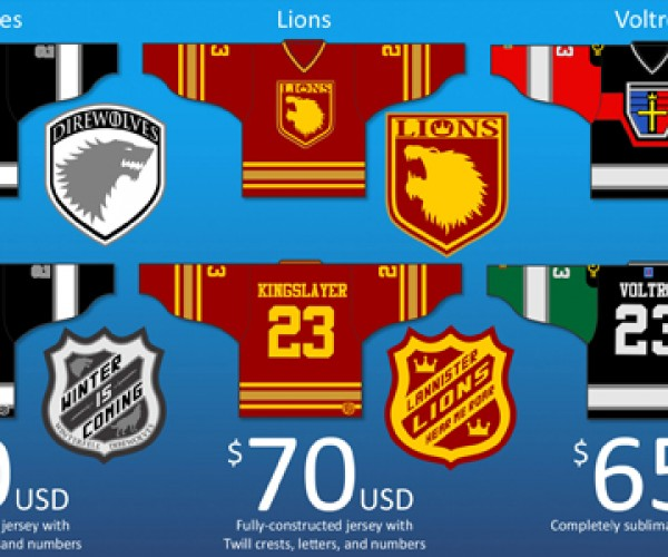 Geeky Hockey Jerseys: Great for Role Playing as a Hockey Player