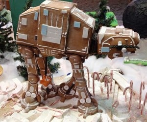 Gingerbread AT-AT: Hothy Holidays