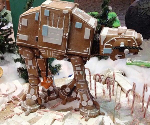 Gingerbread AT-AT: Hothy Holidays