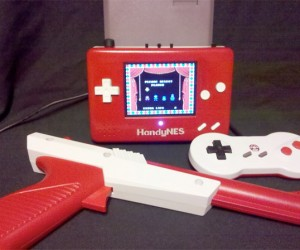 HandyNES: the Portable NES with the Not So Portable Gun