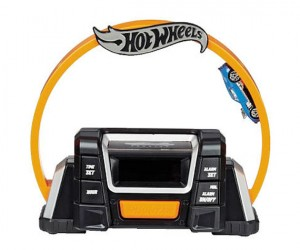 Hot Wheels Alarm Clock Loop-de-Loops You Out of Bed