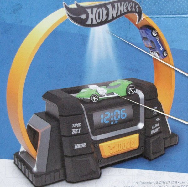 hot wheels alarm clock 2
