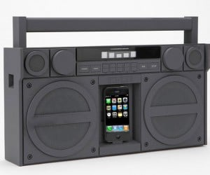 iHome iP4 Boombox for iPhone/iPod: iGhettoBlaster