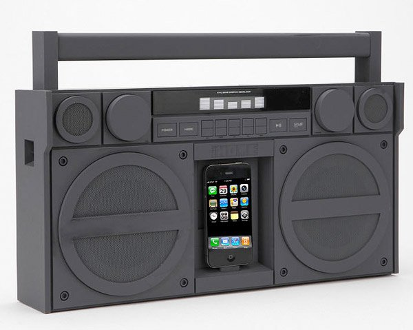 ihome ip4 iphone boombox 1