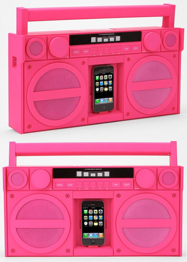 ihome ip4 iphone boombox 3