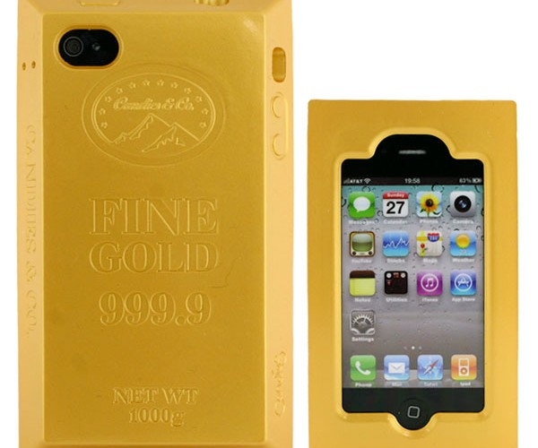 Gold Brick iPhone Case: Not Worth its Weight