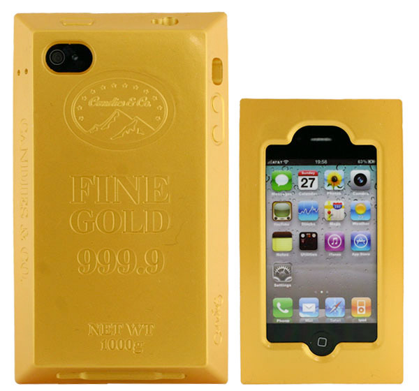 iphone gold bar case 1