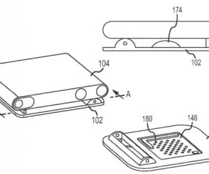 Apple Patent App Shows Fancy Speaker Clip for iPod nano and shuffle
