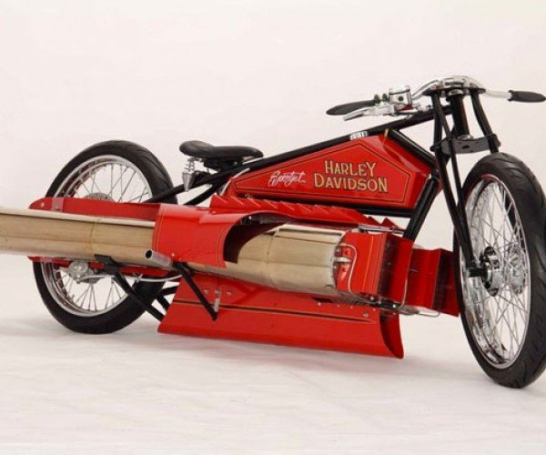Jet-Powered Harley Sold on eBay: Hell Yeah!