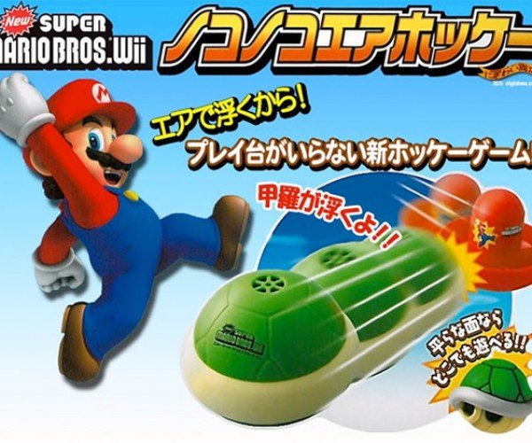 Super Mario Bros.: Koopa Air Hockey Edition