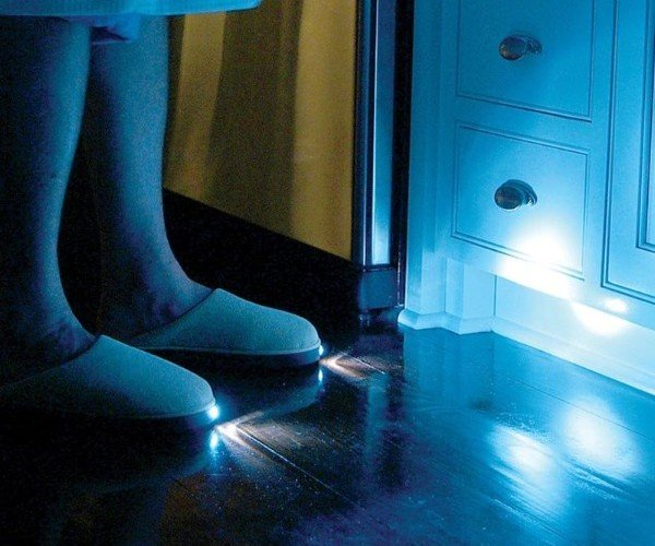 Light Up Slippers are Headlights for Your Feet