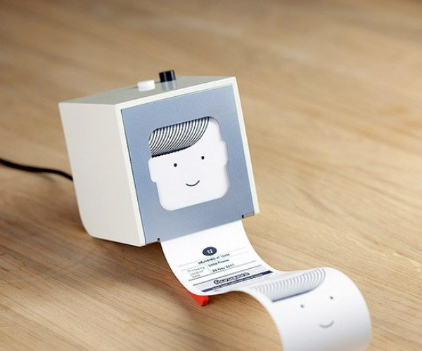 Little Printer Prints Your Personal Daily Newspaper