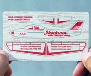 Model Aircraft Business Cards are Just Plane Awesome