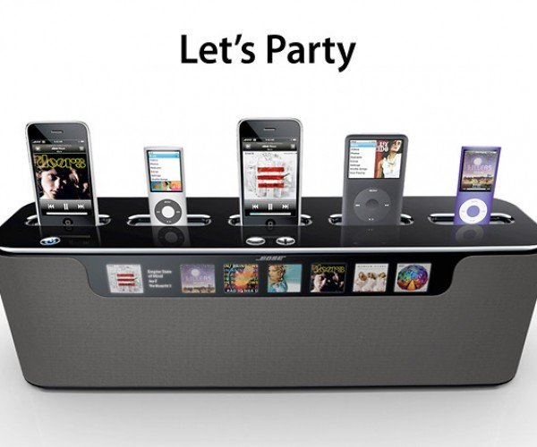Bose Multi-Dock Concept Lets Your Friends Contribute to the Party Mix