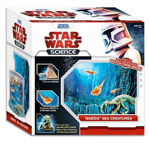 naboo sea creatures science kit 2