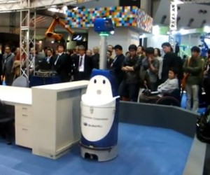 Japanese Robot Helps Humans Clean Offices, No Overtime Needed