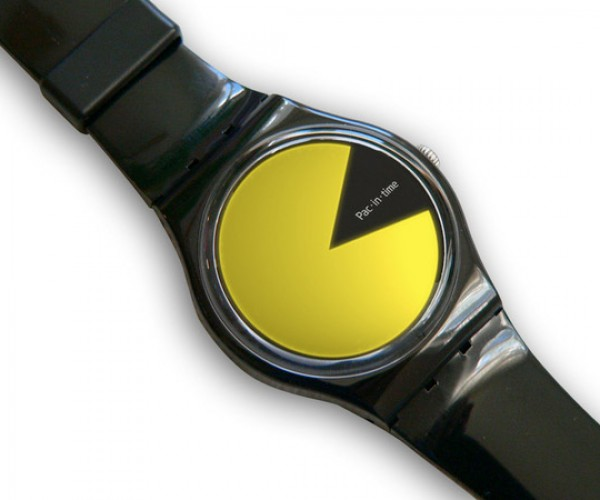 Pac-in-time Watch Concept: Wokka, Wokka, What Time is It?