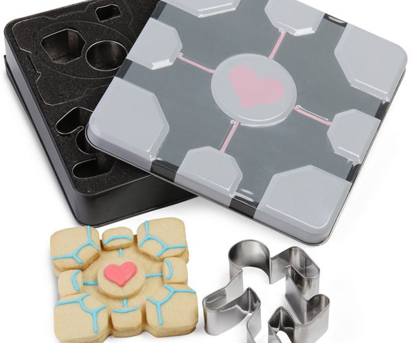 Portal Cookie Cutters: Burn the Companion Cube Over and Over Again