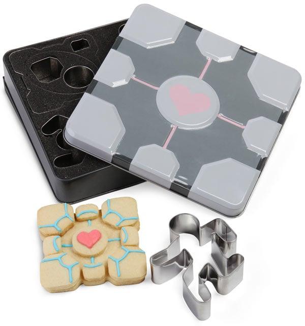 portal cookie cutters from thinkgeek
