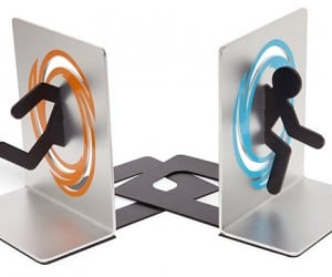 Portal Bookends: For Science (Books)