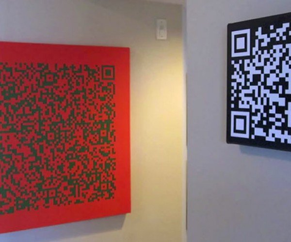 QR Code Art Hides Secret Messages on Your Walls