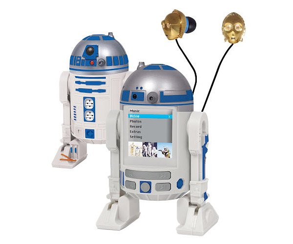 r2 d2 mp4 player