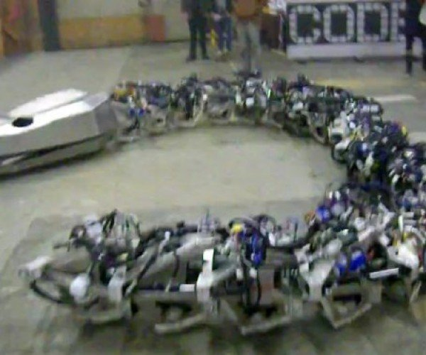 Titanoboa is 50 Feet of Slithering Robot Snake, Looks Hungry