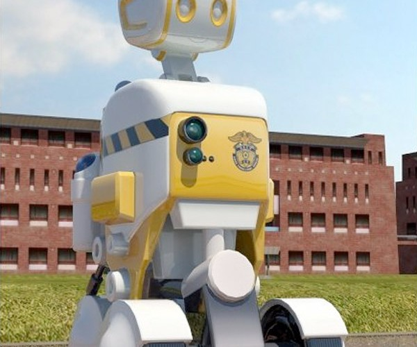 Robot Prison Guards Headed to Korean Jails