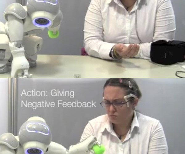 Robot Learns from Smiles, Frowns – Won't Kill Us as Long as We Keep a Happy Face on
