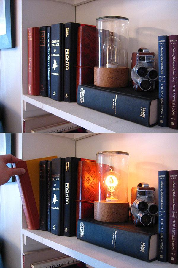 secret passageway switch by ben light