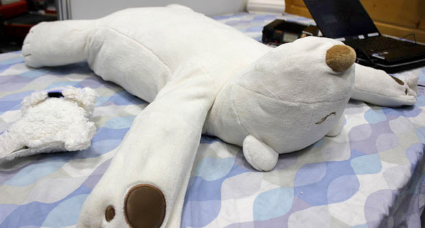 snore stopping pillow robot