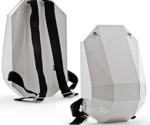 Solid Gray: Backpack to the Future