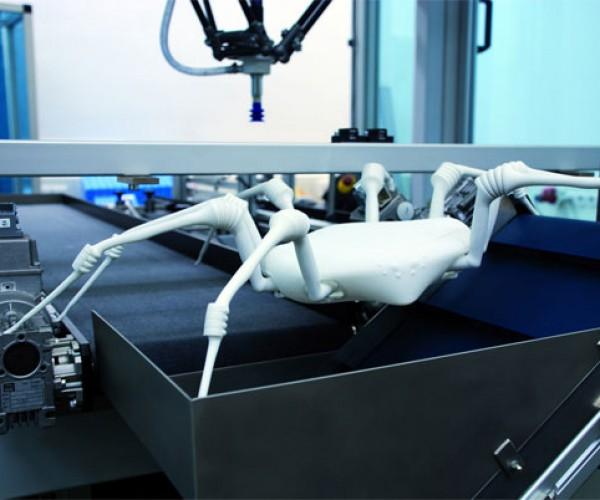 Spider Robot is Creepy, But Helpful