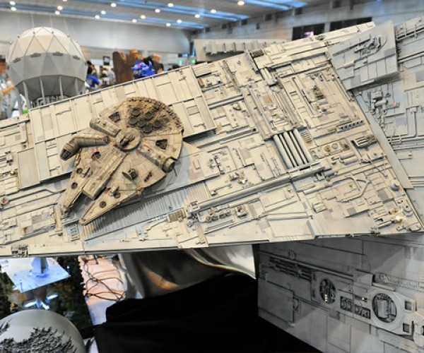 star wars diorama from the 50th shizuoka hobby show 2