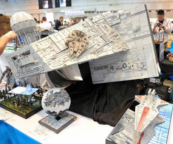 Star Wars Dioramas at The 50th Shizuoka Hobby Show: The Detailed Side of the Force