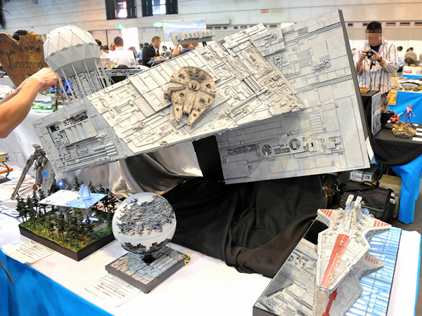 star wars diorama from the 50th shizuoka hobby show