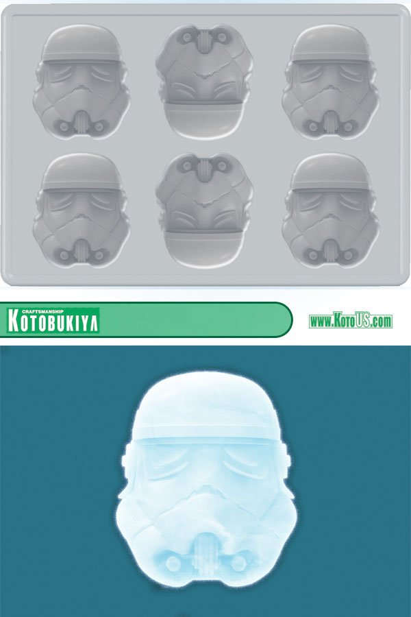 stormtrooper ice cube tray