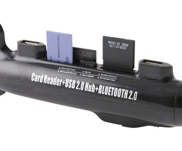 Submarine USB Hub: A Sub Hub for Your Flash Dives