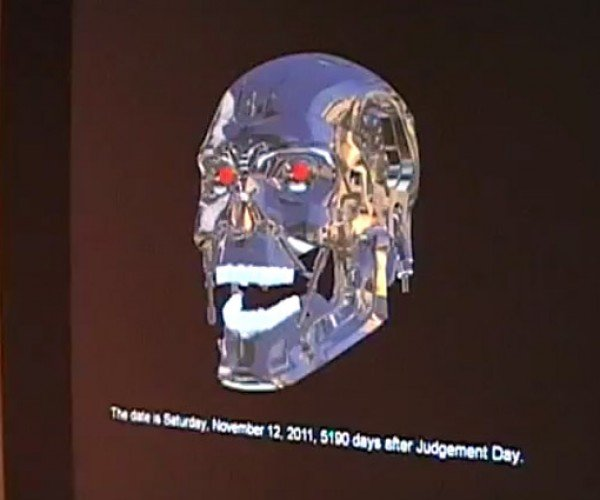 Terminator T-800 Virtual Assistant Arrives, Looking for Siri Connor