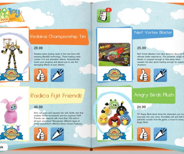 Big Toy Book App Lets Kids Pick the Cool Holiday Toys