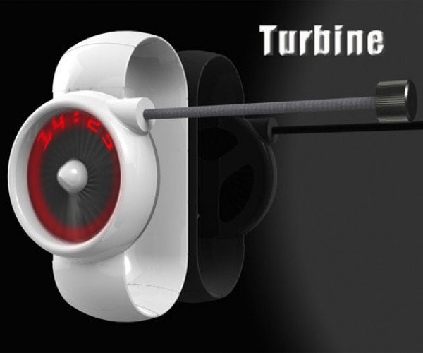 Turbine LED Watch Won't Fly Off Your Wrist