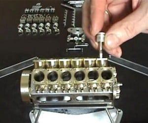 Miniature Fully-functional V12 Engine: for Truly Compact Cars