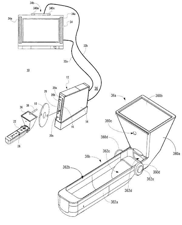 wii mote touchpad patent